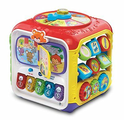 VTech Sort & Discover Activity Cube New