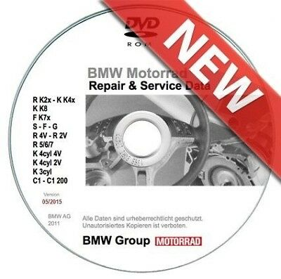 Bmw Motorrad RSD 5.2015 repair manuals & data for all Bmw bikes!!