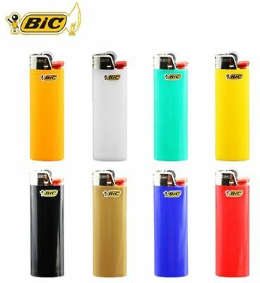 Bic Classic Cigarette Lighters Disposable Full Size, Assorted Colors - Pack of 5