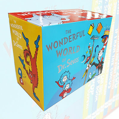 The Wonderful World of Dr Seuss Series 20 Reading Books Box Set Collection NEW