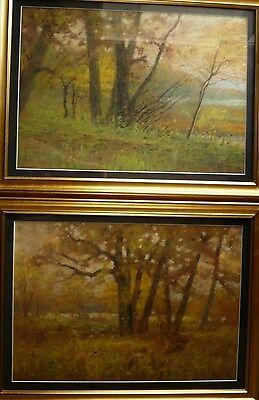 RARE, HENRY CHARLES PAYNE, LISTED EARLY ILLINOIS MA 19th CENTURY MASTER Pastel