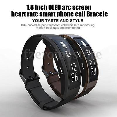 Smart Wrist Band Watch Bracelet Bluetooth Sports Heart Rate Monitor Waterproof