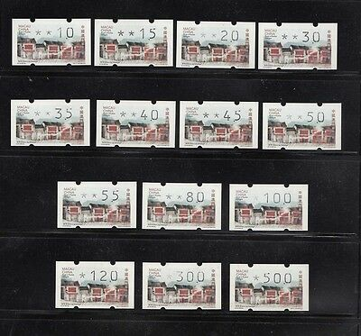 Macau 2016 Old streets and Alleys ATM Frama Label Klussendorf Reprint 14 stamp