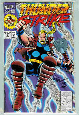 Thunderstrike # 1 (signed & numbered, Dynamic Forces) (USA)