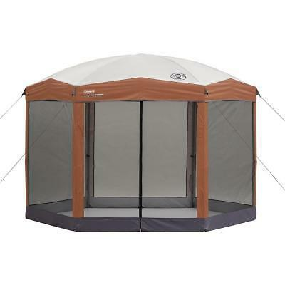 Coleman 12-by-10-foot Hex Instant Screened Canopy/Gazebo