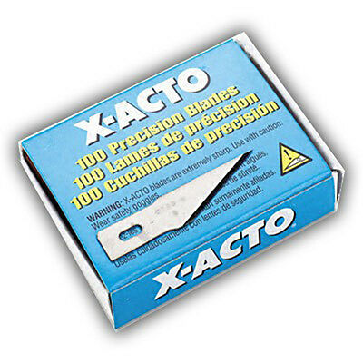 New bulk X-ACTO #11 Classic Fine Point knife blades 100pc for art, craft design