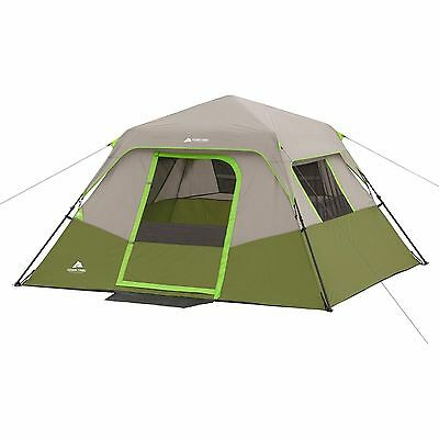 Ozark Trail 6 Person Instant Cabin Tent Green