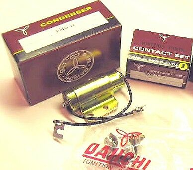 Yamaha Rd250 Rd350 1973 - 1975 Daiichi Tune Up Kit Left Points + Condensor