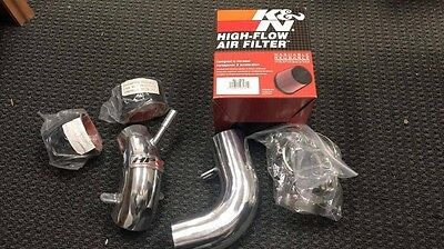 HPS Polished Cold Air Intake Kit for 2004-2007 Ford Focus 37-112P