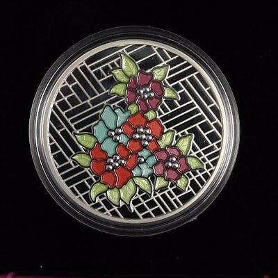 2014 $20 Fine silver coin Stained Glass Craigdarroch castle not sale tax