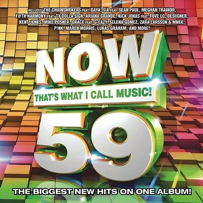 Now That's What I Call Music! 59 by Various Artists (CD, Aug-2016, Legacy) NEW