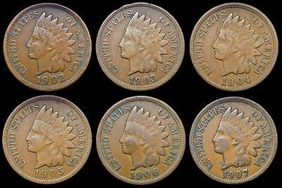*HHC* Indian Head Cent, 1905, Full Liberty, Price per coin