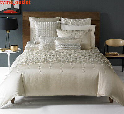 Hotel Collection Duvet Cover Crystalle FULL / QUEEN Gold  150