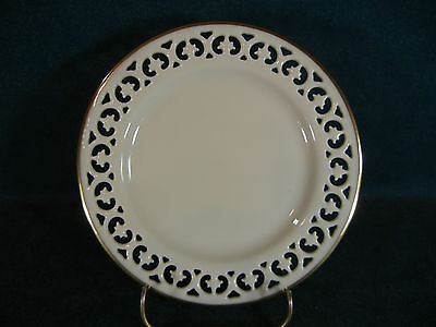 """Lenox Modano Lace Reticulated 6 3/8"""" Bread and Butter Plate(s)"""