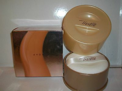 Avon Treselle Shimmering Body Powder With Powder Puff