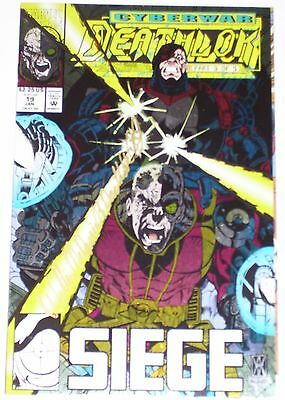 Deathlok #19 from Jan 1993 VF to VF/NM Foil cover