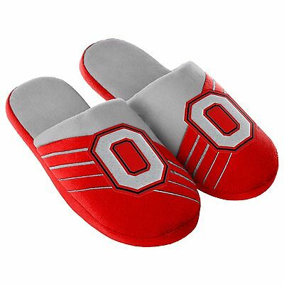 Pair Ohio State Buckeyes Big Logo Team Slide Slippers Color House shoes BLG16