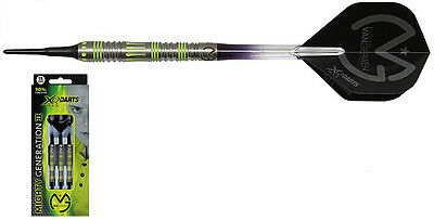 Darts XQ-MAX Mighty Generation II - Michael van Gerwen Softdarts - Dart Set
