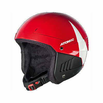Atomic Pro Tect WC Race Skihelm rot