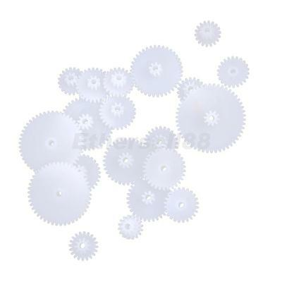 Different Types Plastic Crown Gear Single Double Reduction Gear Worm Gear