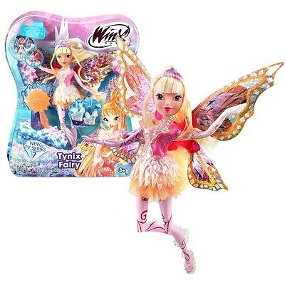 Winx Club - Tynix Fairy Doll - Stella 28cm with Magic Robe