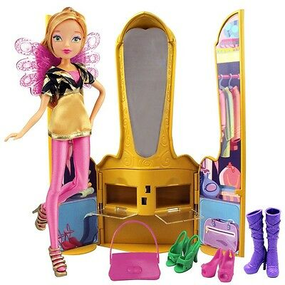 Winx Club - Magic Throne with Doll Flora & Accessories