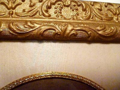 """14"""" X 12"""" ANTIQUE Wood & Gesso FRENCH ROCOCO Wall PICTURE FRAME Victorian"""