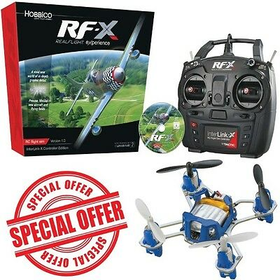 Great Planes RealFlight RF-X Simulator Interlink-X Con Windows w/ Proto-X Nano