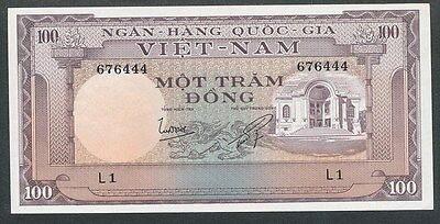 South Vietnam Pick # 18 100 One Hundred Dong