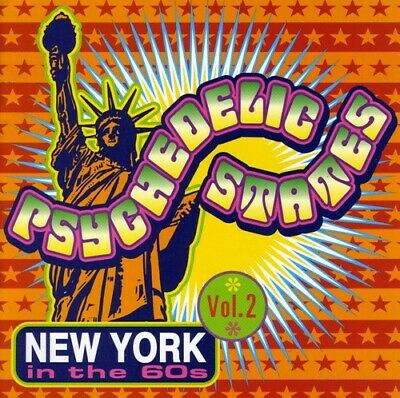 Various Artists - Psychedelic States: New York In The 60s, Vol. 2 [New CD]