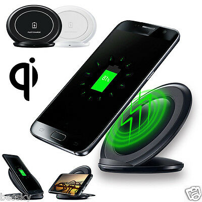 Genuine Qi Wireless Fast Charging Stand Dock for Samsung Galaxy S7/S7 edge Lot