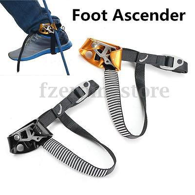 Ascender Climbing Foot Rope Caving Tools Right Left Rock Safety Gear Outdoor