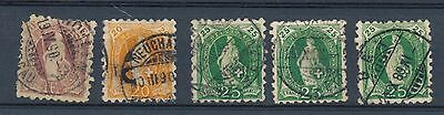 Switzerland stamp  1888 collection perforation 9 1/2 HPS