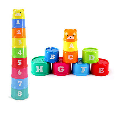 Folding Cup Children Early Childhood Educational Toy 0-1 Year Old Children Kids