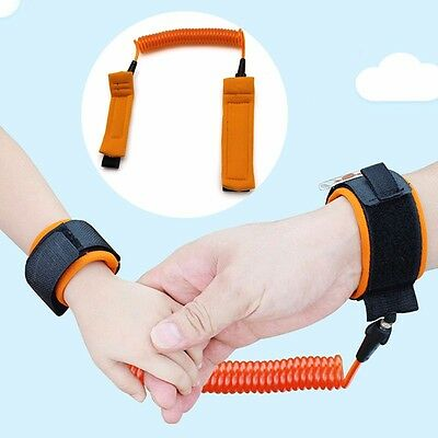Baby Toddler Kids Child Safety Harness Leash Anti Lost Wrist Link Traction Rope