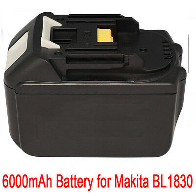 18V 6.0AH Battery For Makita BL1860 BL1840 BL1830 BL1815 LXT Lithium Ion