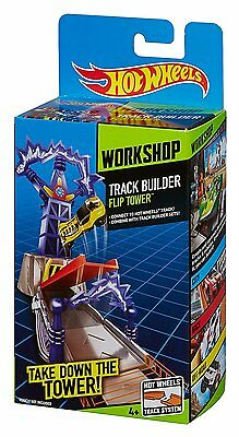 Hot Wheels Workshop Track Builder Flip Tower Toy