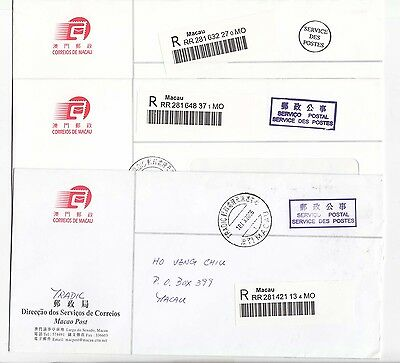 China Macau Postal Cover Postal Paid from Post Office 100 covers