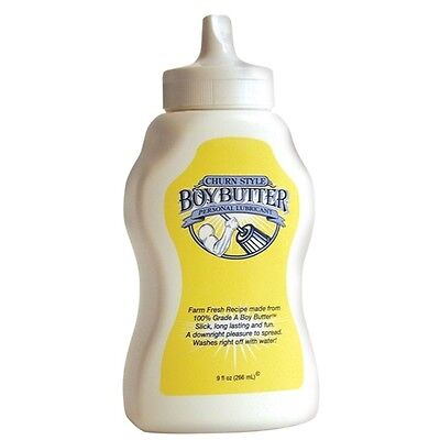 Boy Butter Original - Oil-Based Lubricant - 9oz Squeeze Lube