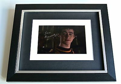 Sean Biggerstaff SIGNED 10x8 FRAMED Photo Autograph Display Harry Potter & COA