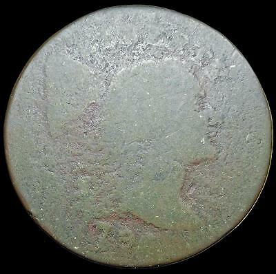 *HHC* Flowing Hair Large Cent, 1796 (Inv #U534)