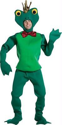 Adult Green Frog Kiss The Prince Funny Costume New Gc6051