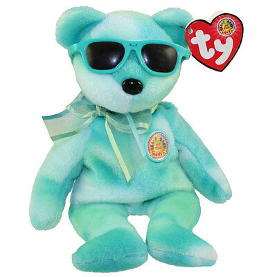 TY Beanie Baby - PICNIC the Bear (BBOM August 2007) (8.5 inch) - MWMTs