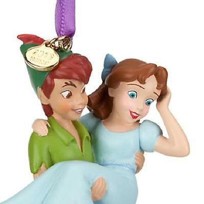 Disney 2013 Peter Pan And Wendy Ornament New In Box