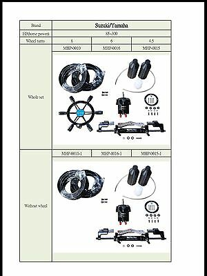 Hydraulic Steering System Raystar Suit 60-250 Hp