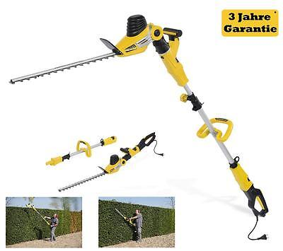 2in1 telescopic hedge trimmer arm handle Pruner electric 750 W