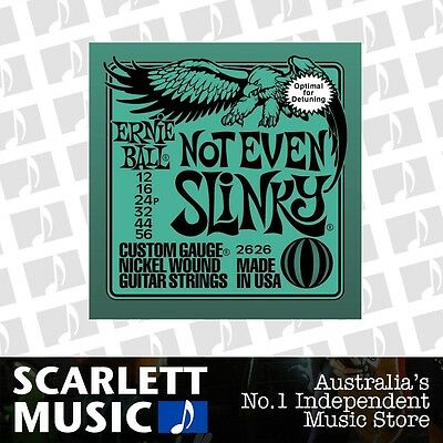 Ernie Ball Not Even Slinky 12-56 Electric Guitar Strings *BRAND NEW*