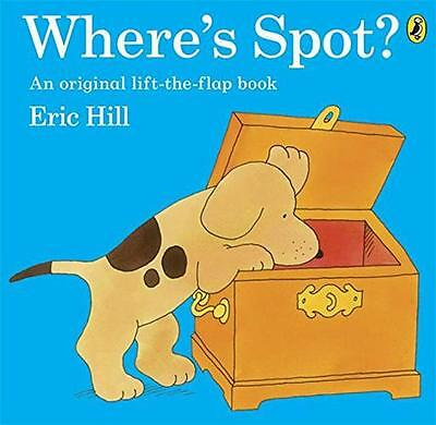 Where's Spot?, Hill, Eric | Paperback Book | 9780141343747 | NEW