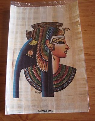 Egyptian  PAPYRUS - Queen Cleopatra -.Pharaonic - #202