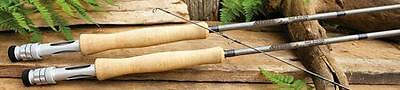 ST. CROIX 9' 6 wt 4 pc BANK ROBBER FLY ROD with ROD CASE BR906.4